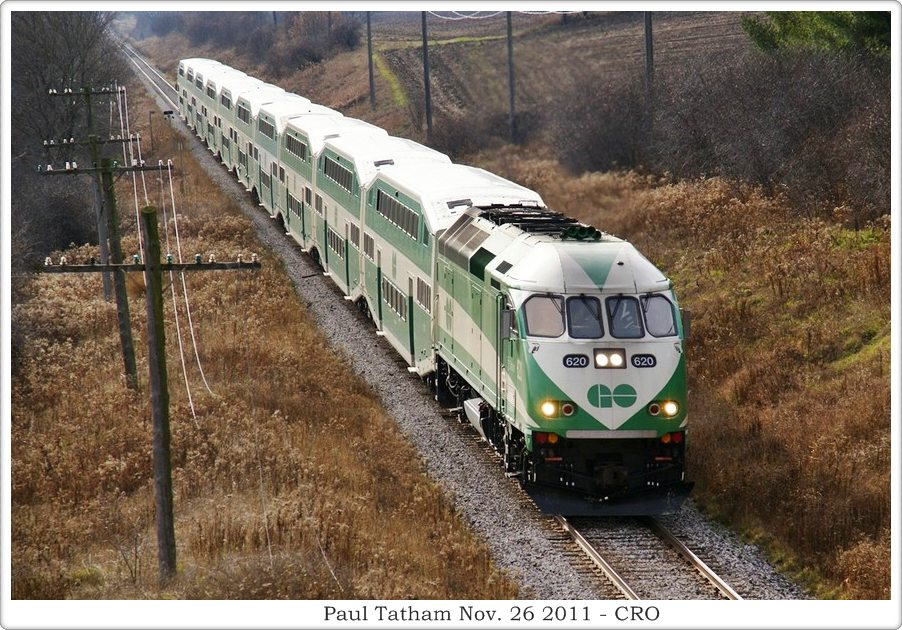 Canadian Cab Guelph >> Canadian Railway Observations - AMT & GO Commuter