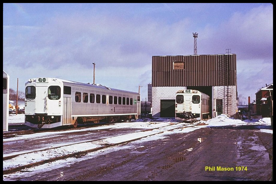Canadian Railway Observations Amt Amp Go Commuter