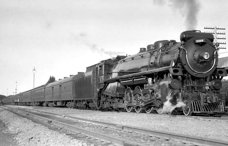 Image result for canadian pacific northern 4-8-4