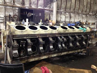 Sept on Cadillac V16 Engine